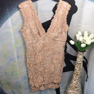 Tadashi Shoji women's lace dress size 12
